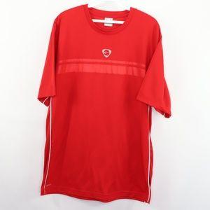 Vintage Nike Small Swoosh Travis Scott Jersey Red